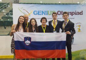 Genius Olympiad Slovenija POPRI